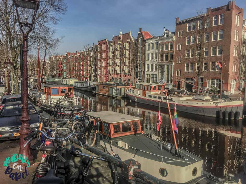 Barrio de Jordaan. Ámsterdam