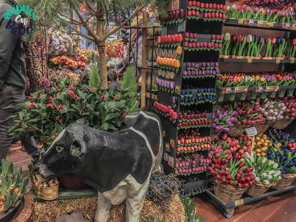 Mercado de las flores. Qué ver y hacer en Ámsterdam en 3 días