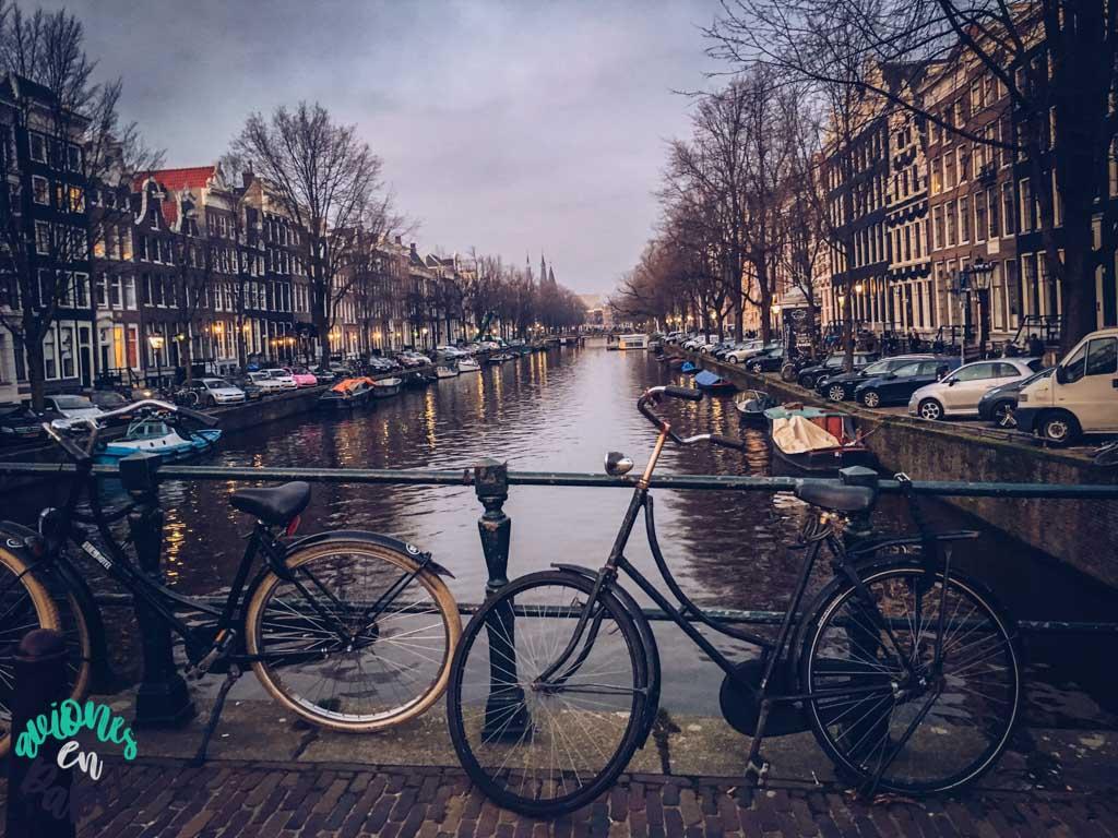 Canal Herengracht - Ámsterdam