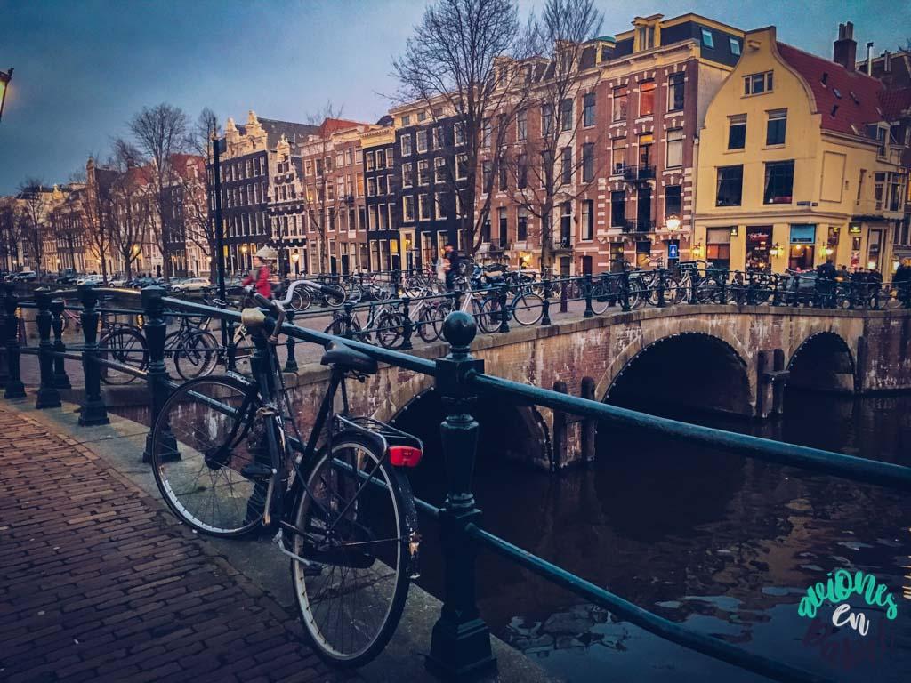 Canal Keizersgracht - Ámsterdam