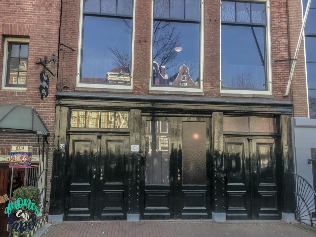 Casa Museo Ana Frank. Qué ver y hacer en Ámsterdam en 3 días