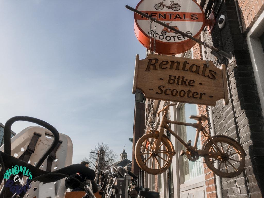 Alquiler de bicicletas en Ámsterdam