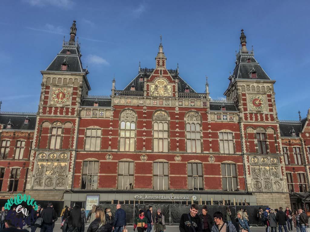 Estación Central. Qué ver y hacer en Ámsterdam en 3 días