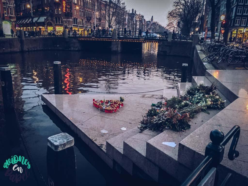 Homomonument - Ámsterdam