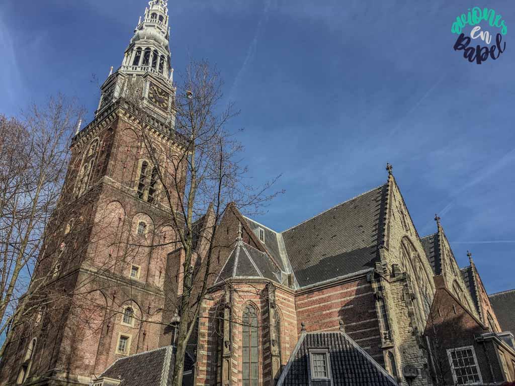 Oude Kerk. Qué ver y hacer en Ámsterdam en 3 días