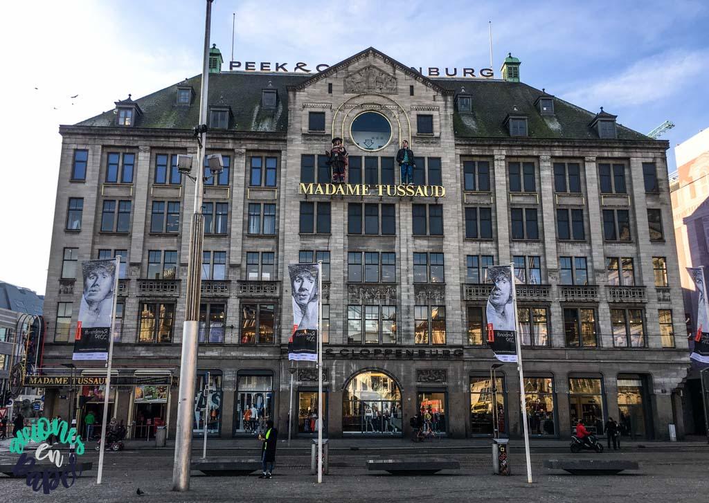 Museo Madame Tussauds. Qué ver y hacer en Ámsterdam en 3 días