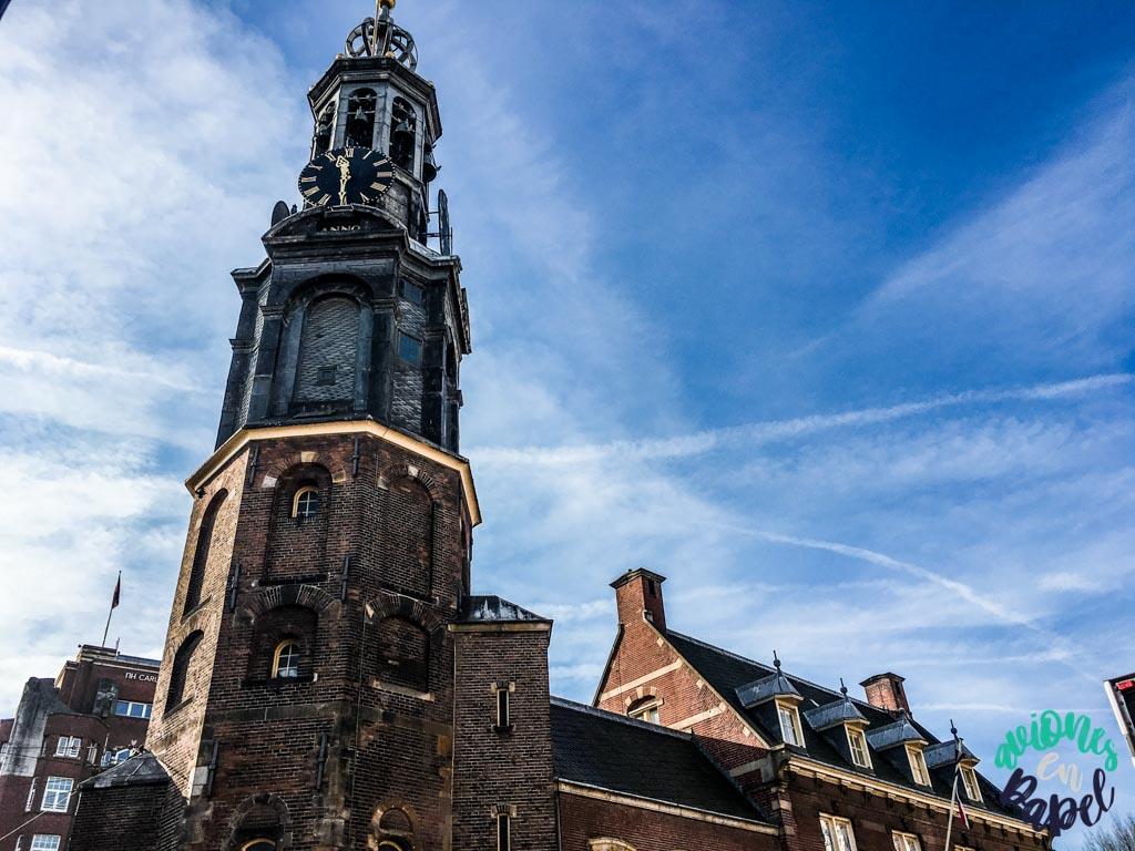 Munttoren. Qué ver y hacer en Ámsterdam en 3 días