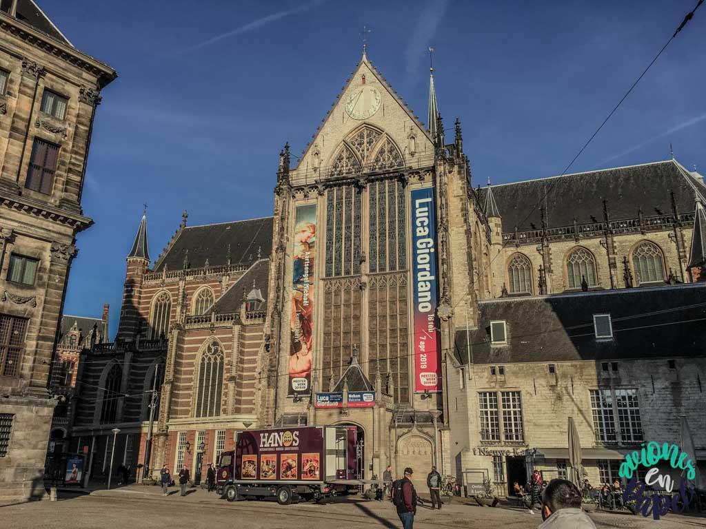 Iglesia Nueva. Qué ver y hacer en Ámsterdam en 3 días