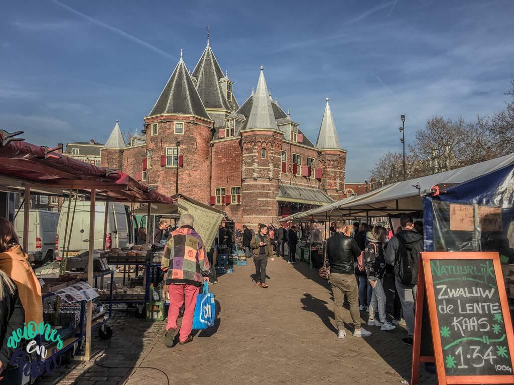 Nieuwmarkt. Qué ver y hacer en Ámsterdam en 3 días