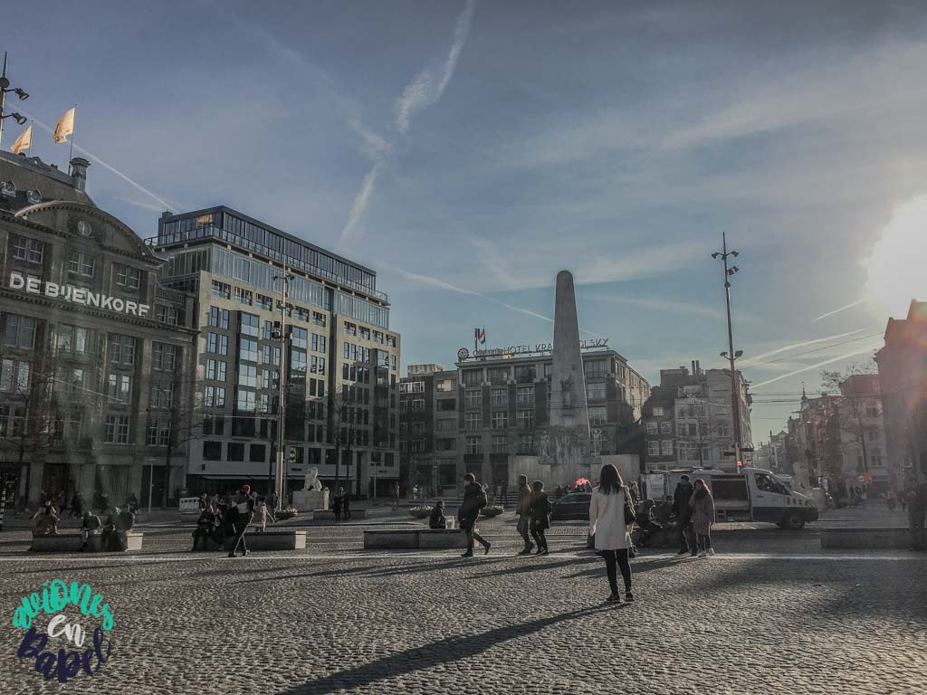 Plaza Dam. Qué ver y hacer en Ámsterdam en 3 días