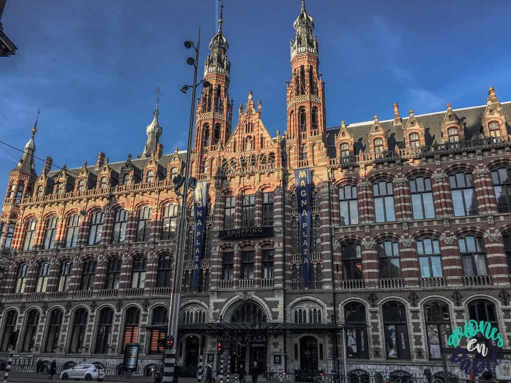 Plaza Magna. Qué ver y hacer en Ámsterdam en 3 días