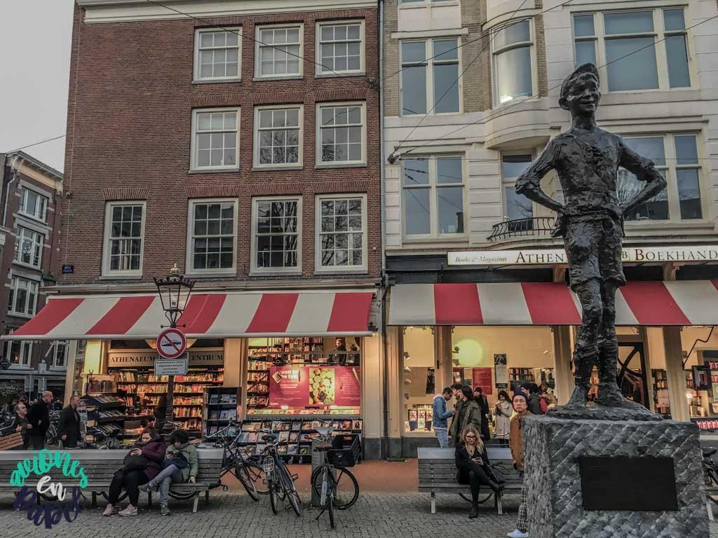Plaza Spui. Qué ver y hacer en Ámsterdam en 3 días