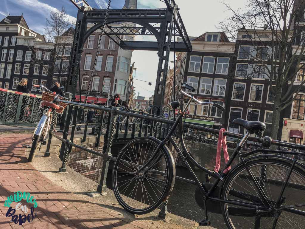 Puente Staalmeestersbrug. Qué ver y hacer en Ámsterdam en 3 días