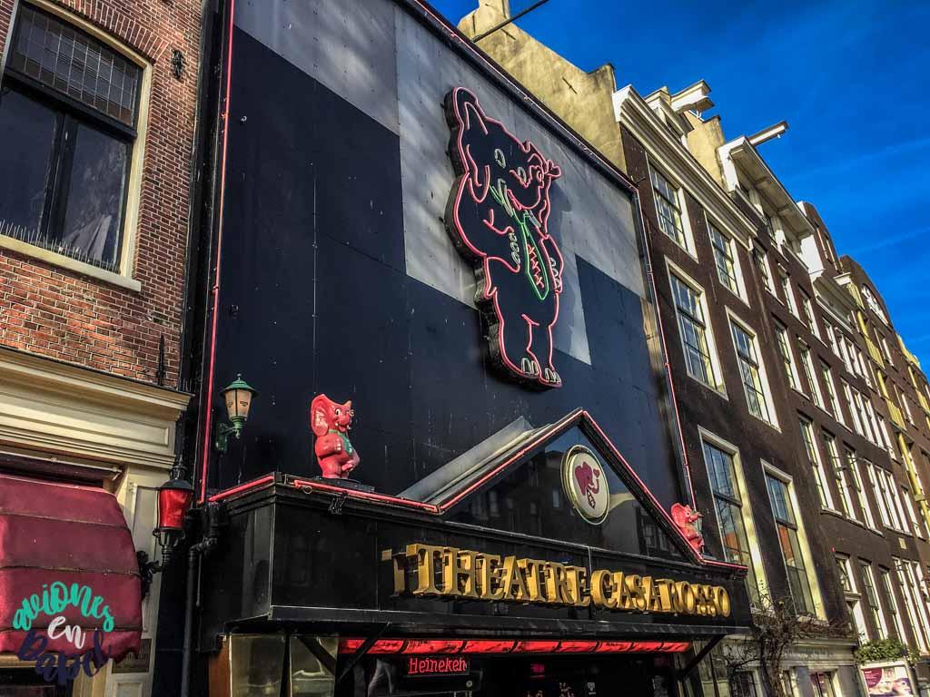 Casa Rosso. Qué ver y hacer en Ámsterdam en 3 días