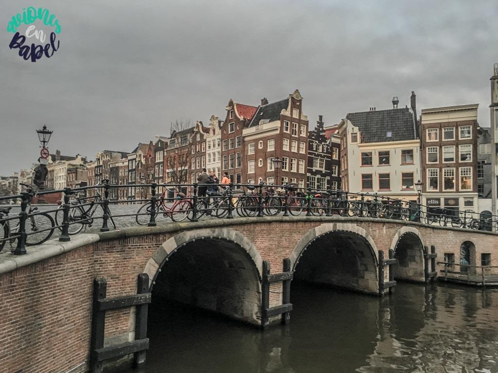 Puente de Tonrensluis. Qué ver y hacer en Ámsterdam en 3 días