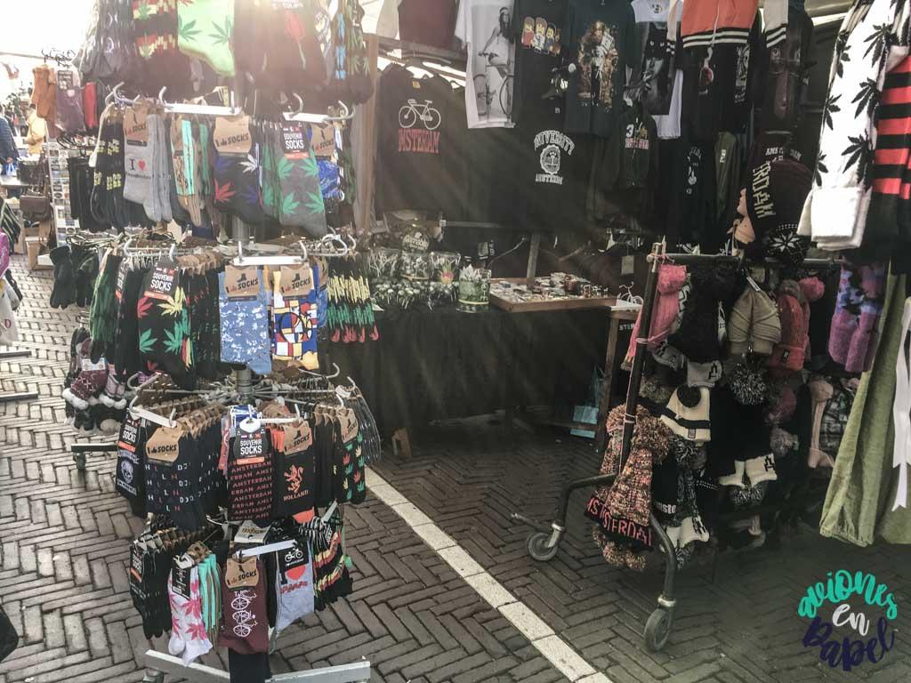 Mercado Waterlooplein. Qué ver y hacer en Ámsterdam en 3 días