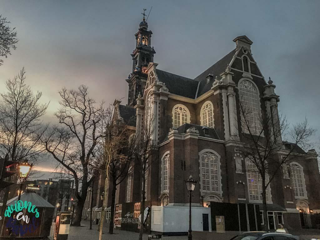 Iglesia Westerkerk. Qué ver y hacer en Ámsterdam en 3 días