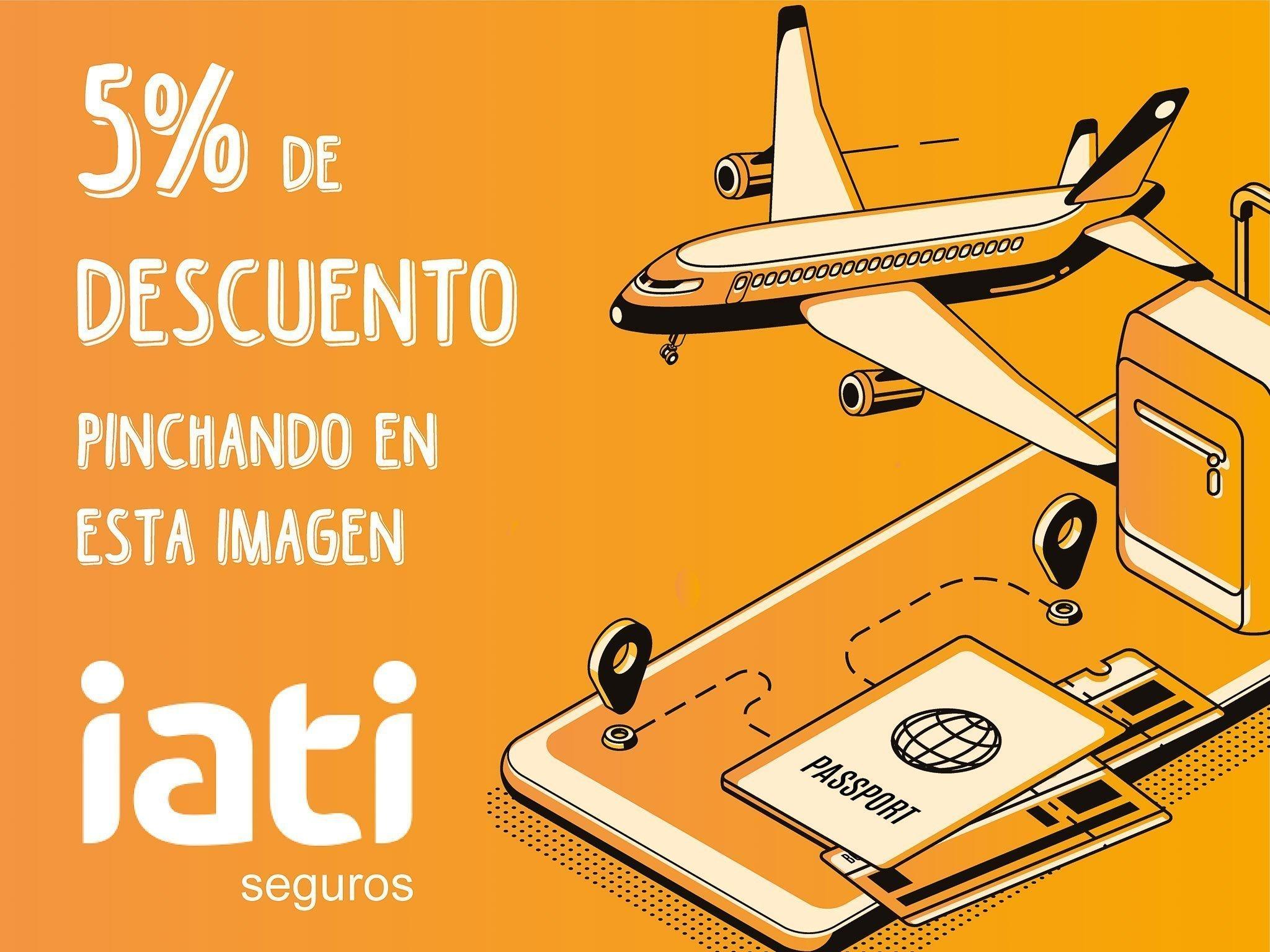 Banner Iati, 5% de descuento