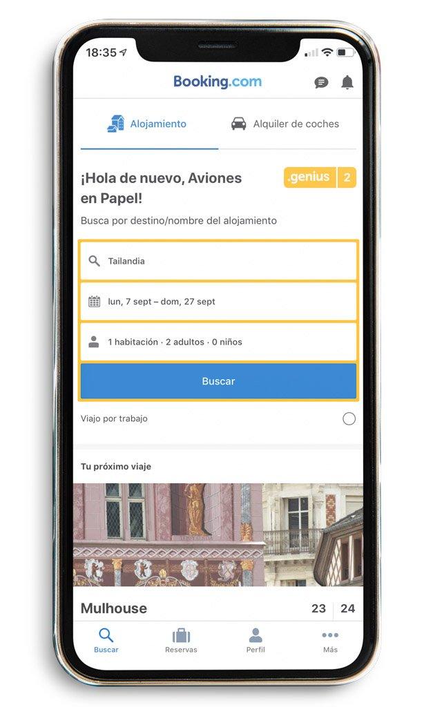App Booking. Preparativos y qué saber antes de viajar a Tailandia