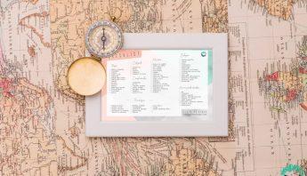 Lista de viaje (Checklist) para descargar gratis en pdf
