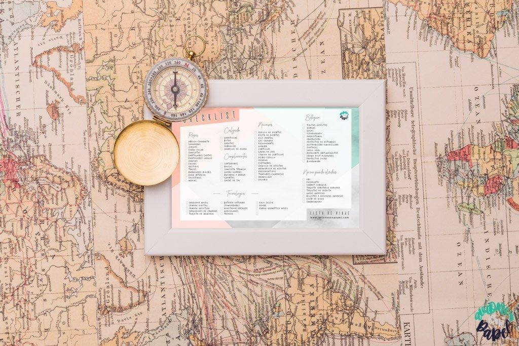 La Checklist para que no se te olvide nada en tus viajes