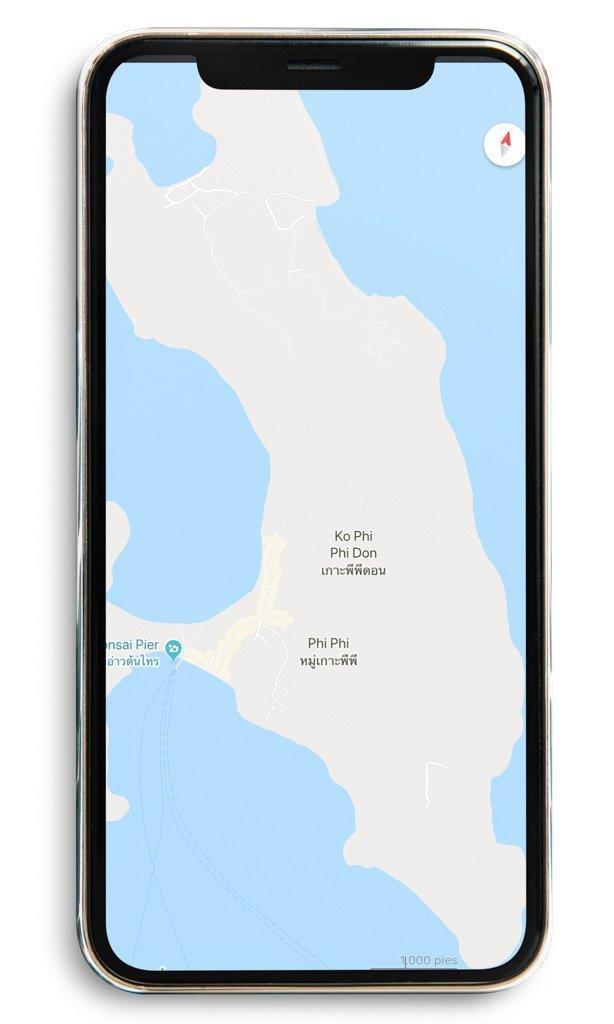 App Google Maps. Preparativos y qué saber antes de viajar a Tailandia