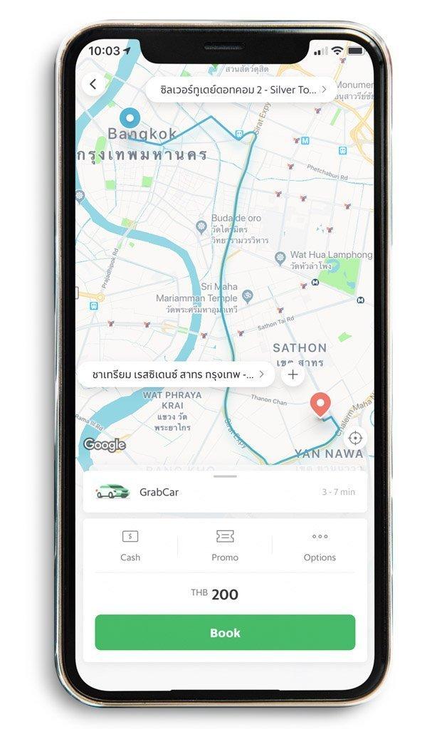 Grab App. Preparativos y qué saber antes de viajar a Tailandia