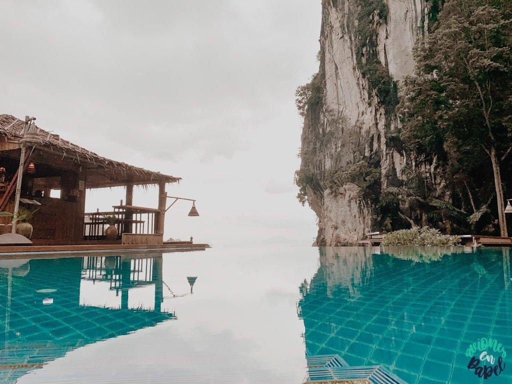 Alojamiento en Railay. Presupuesto de viaje a Tailandia en 15 días