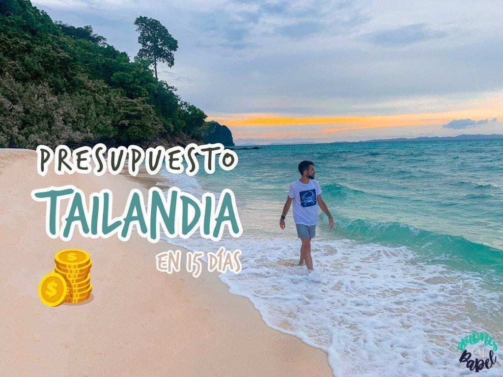 Presupuesto de viaje a Tailandia en 15 días