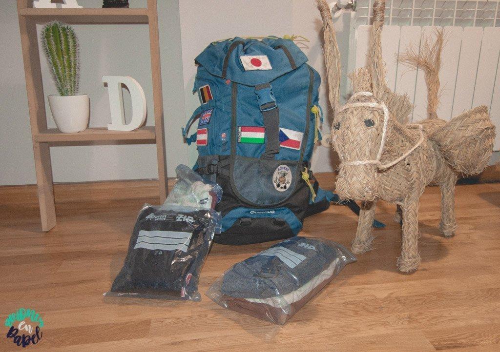 Cantidad. Qué llevar y cómo preparar la mochila de viaje