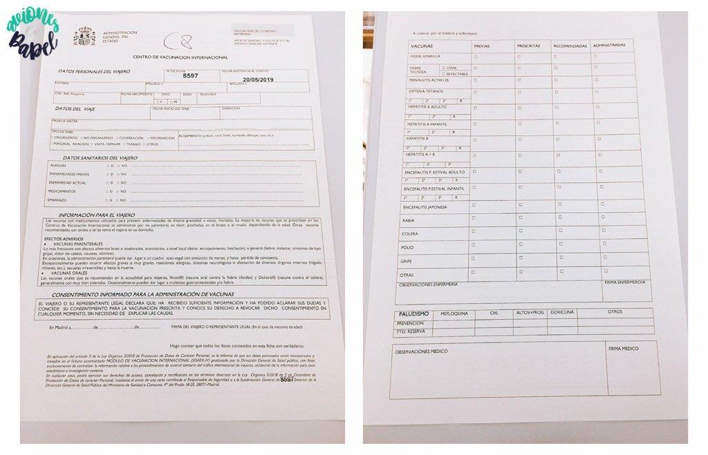 Vacunas obligatorias. Preparativos y qué saber antes de viajar a Tailandia