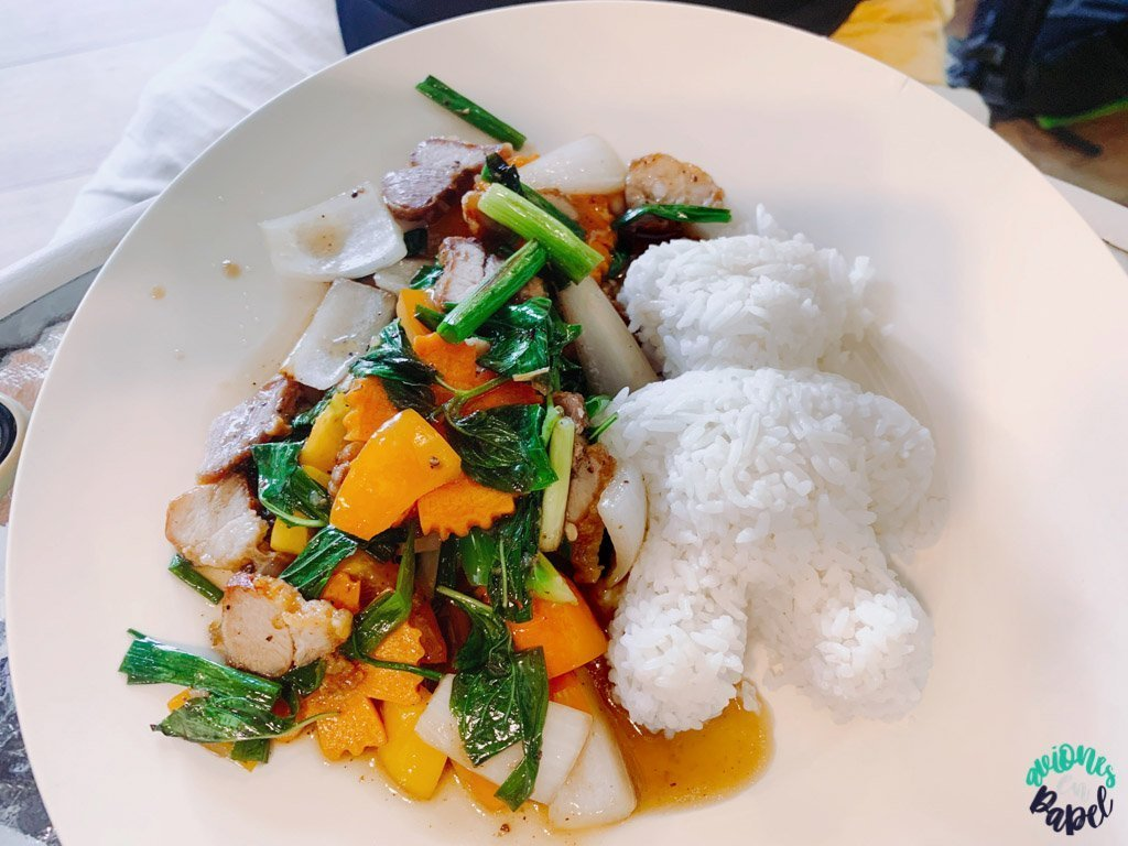 Alimentación. Presupuesto de viaje a Tailandia en 15 días