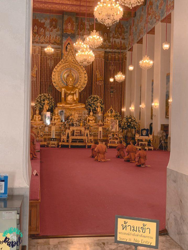 Wat Chana Songkhram. Qué ver en Bangkok en 3 días