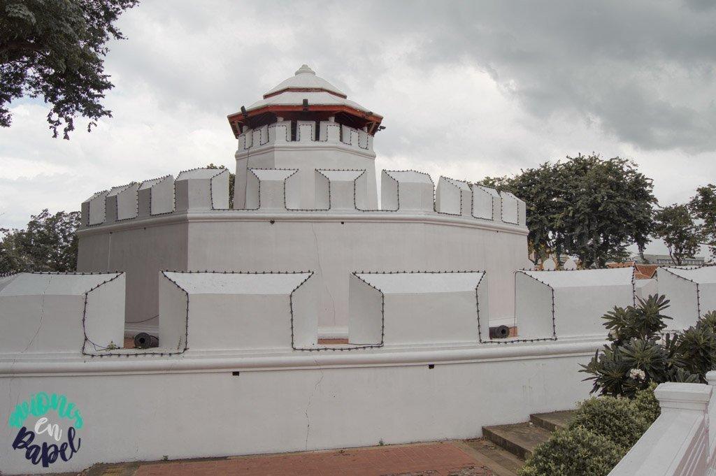 Mahakarn Fort. Qué ver en Bangkok en 3 días