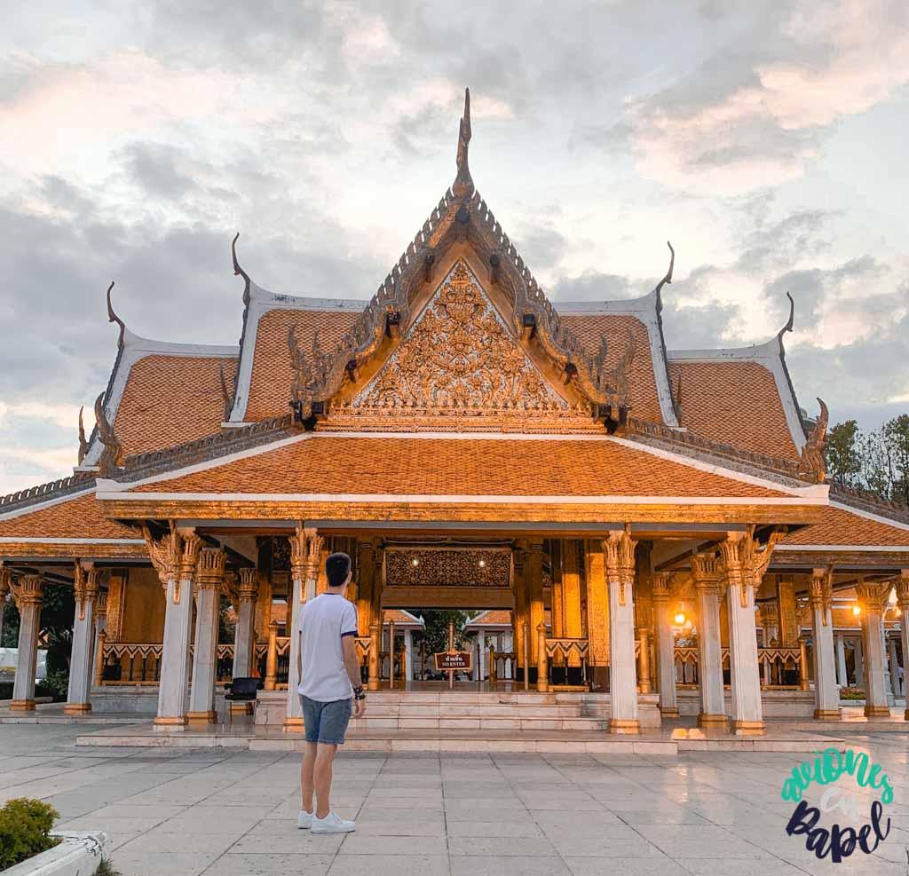 Royal Pavilion Mahajetsadabadin. Qué ver en Bangkok en 3 días