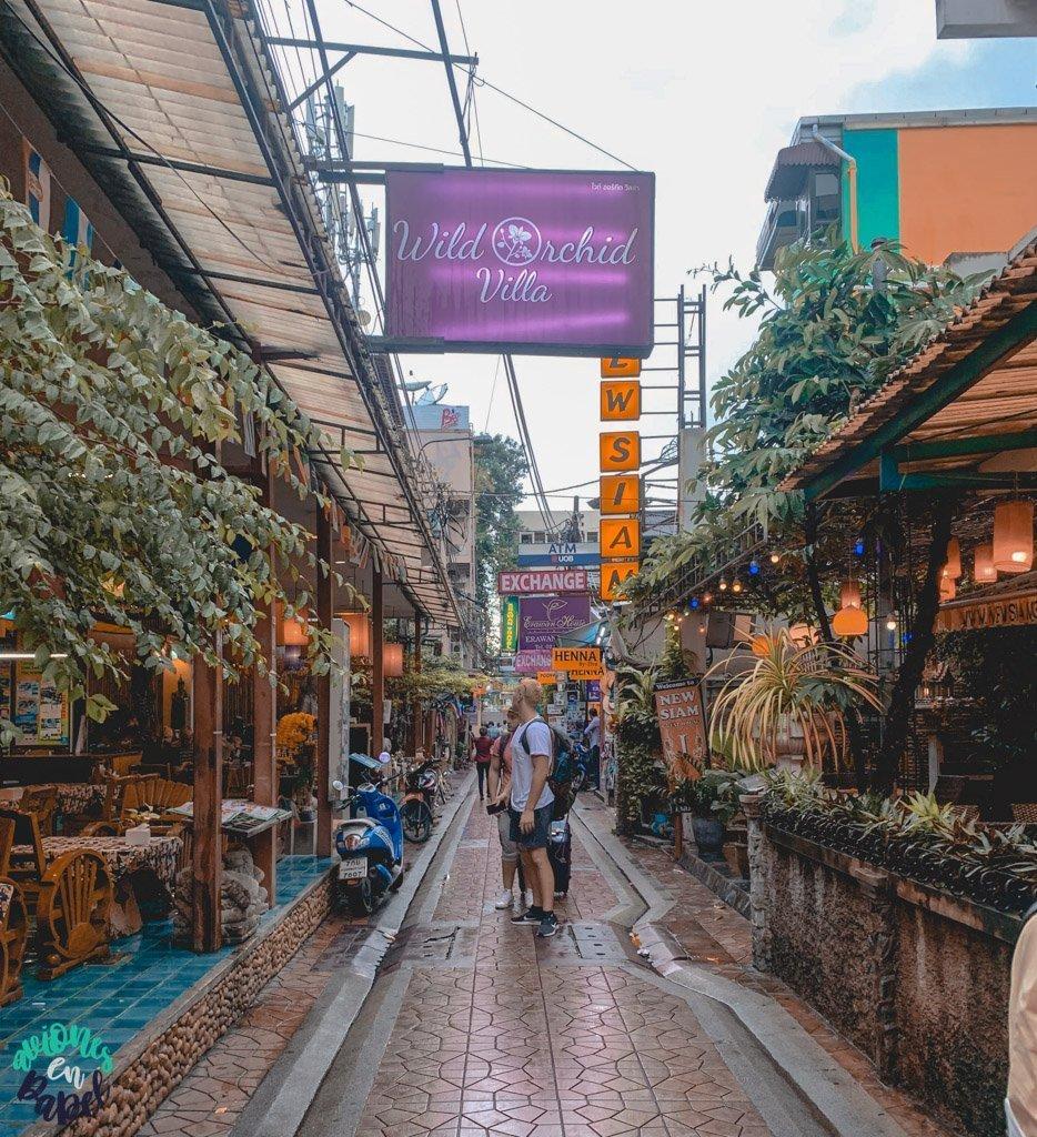 Rambuttri Road. Qué ver en Bangkok en 3 días