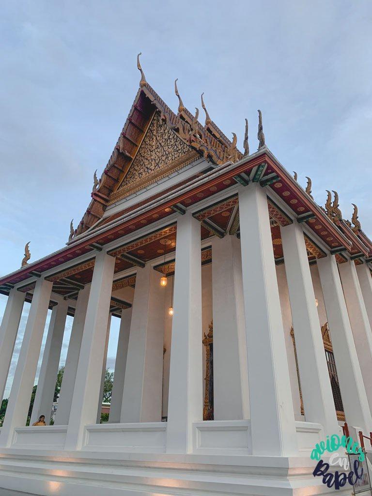 Wat Ratchanatdaram. Qué ver en Bangkok en 3 días