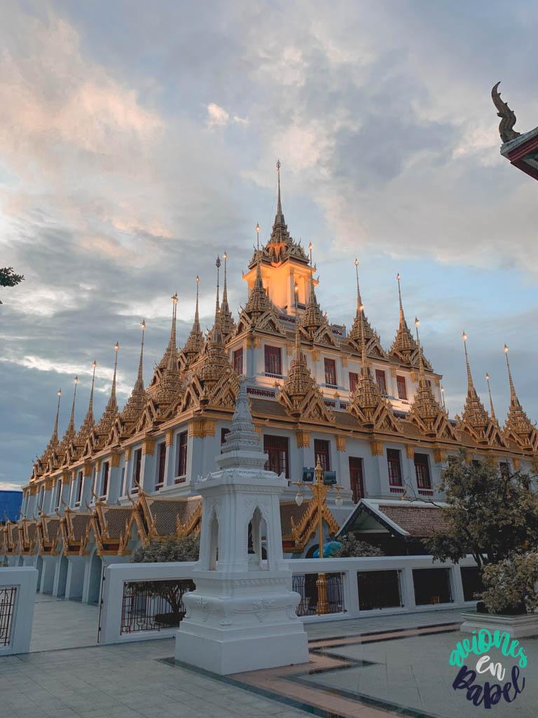 Loha Prasat. Qué ver en Bangkok en 3 días