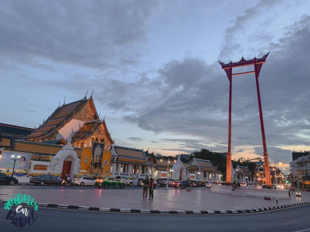 Wat Suthat y el columpio gigante. Qué ver en Bangkok en 3 días