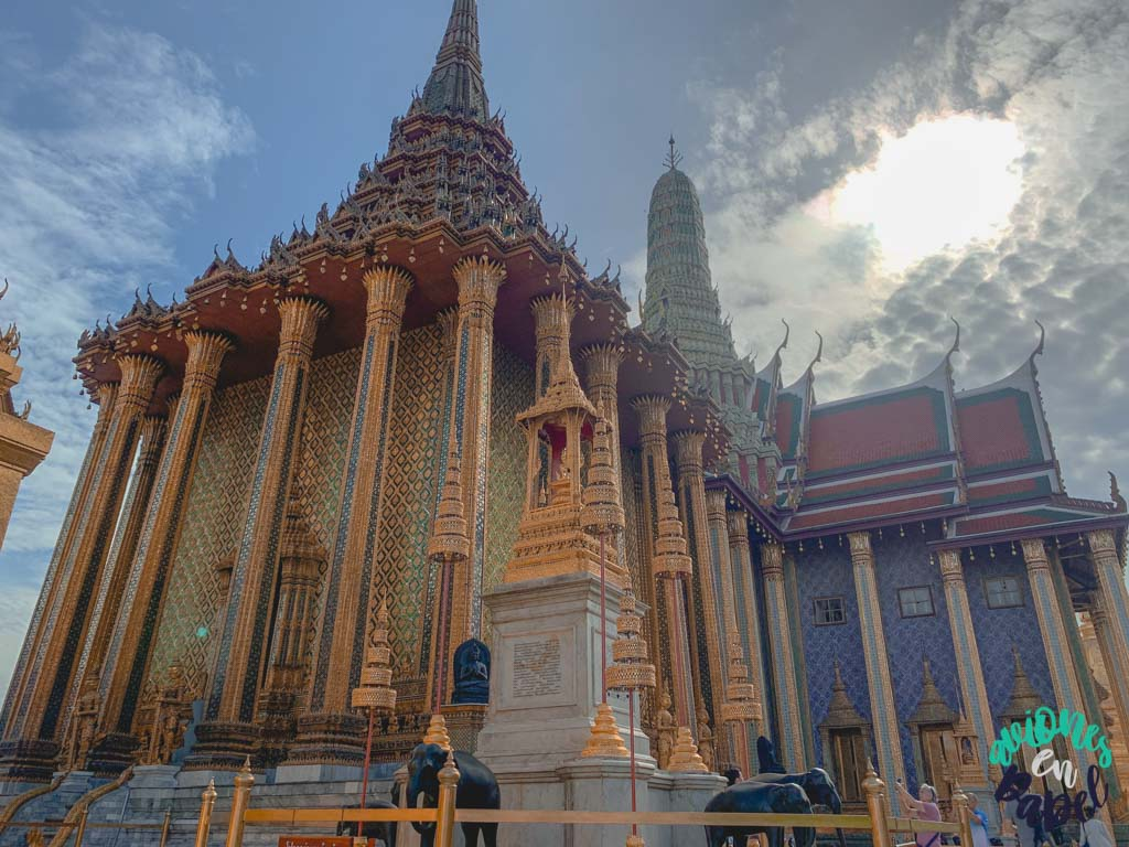 Panteón real del Grand Palace. Qué ver en Bangkok en 3 días