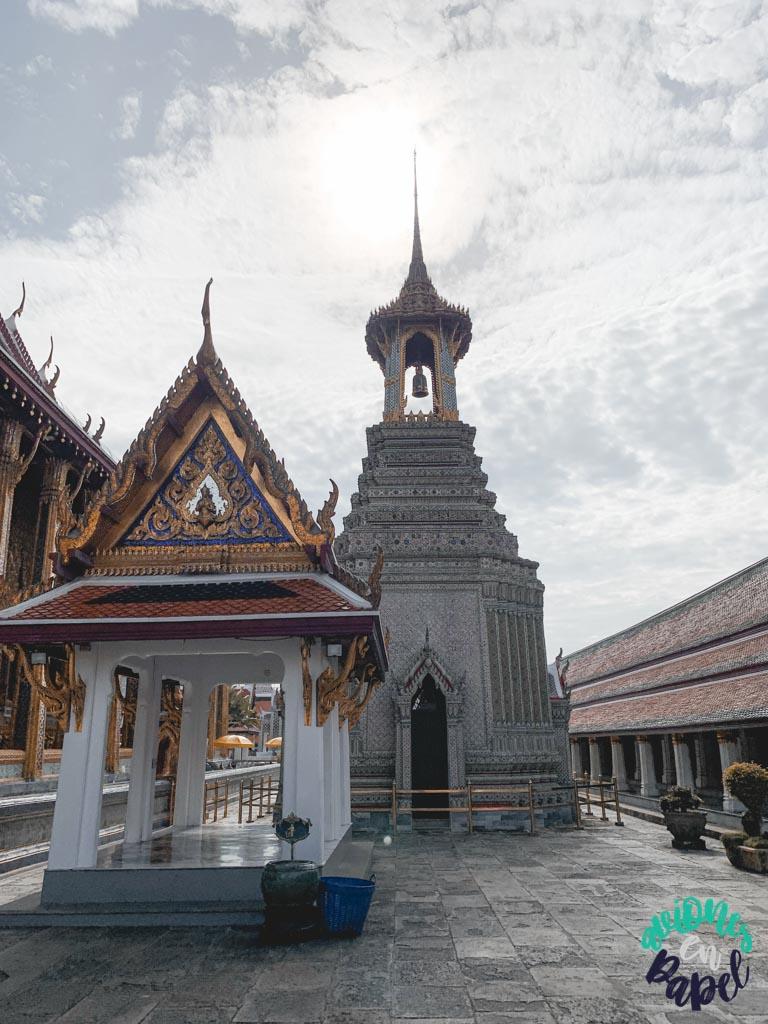 Belfry o campanario del Grand Palace. Qué ver en Bangkok en 3 días