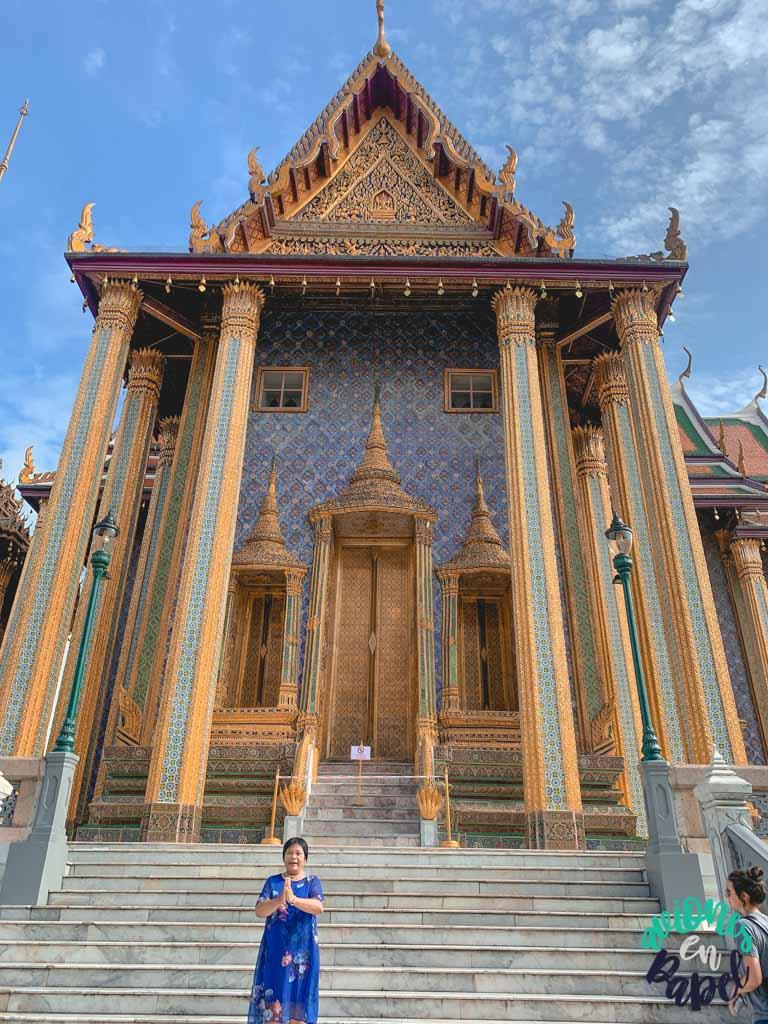 Phra Mondop del Grand Palace. Qué ver en Bangkok en 3 días