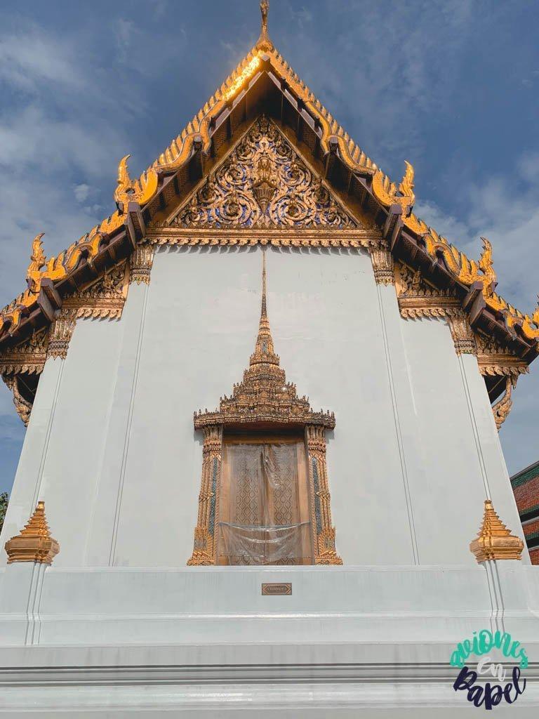 Hor Phra Naga del Grand Palace. Qué ver en Bangkok en 3 días