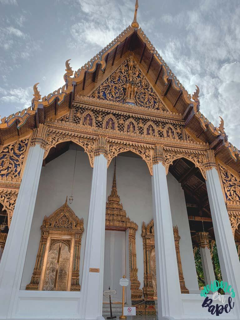 Biblioteca auxiliar del Grand Palace. Qué ver en Bangkok en 3 días