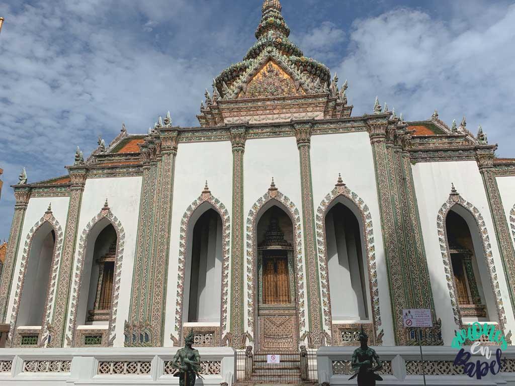 Phra Wiharn Yod del Grand Palace. Qué ver en Bangkok en 3 días