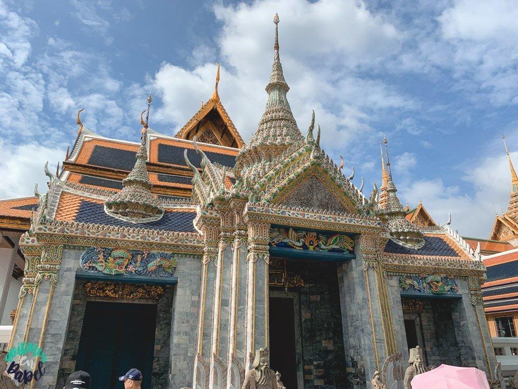 Snamchand Pavilion del Grand Palace. Qué ver en Bangkok en 3 días