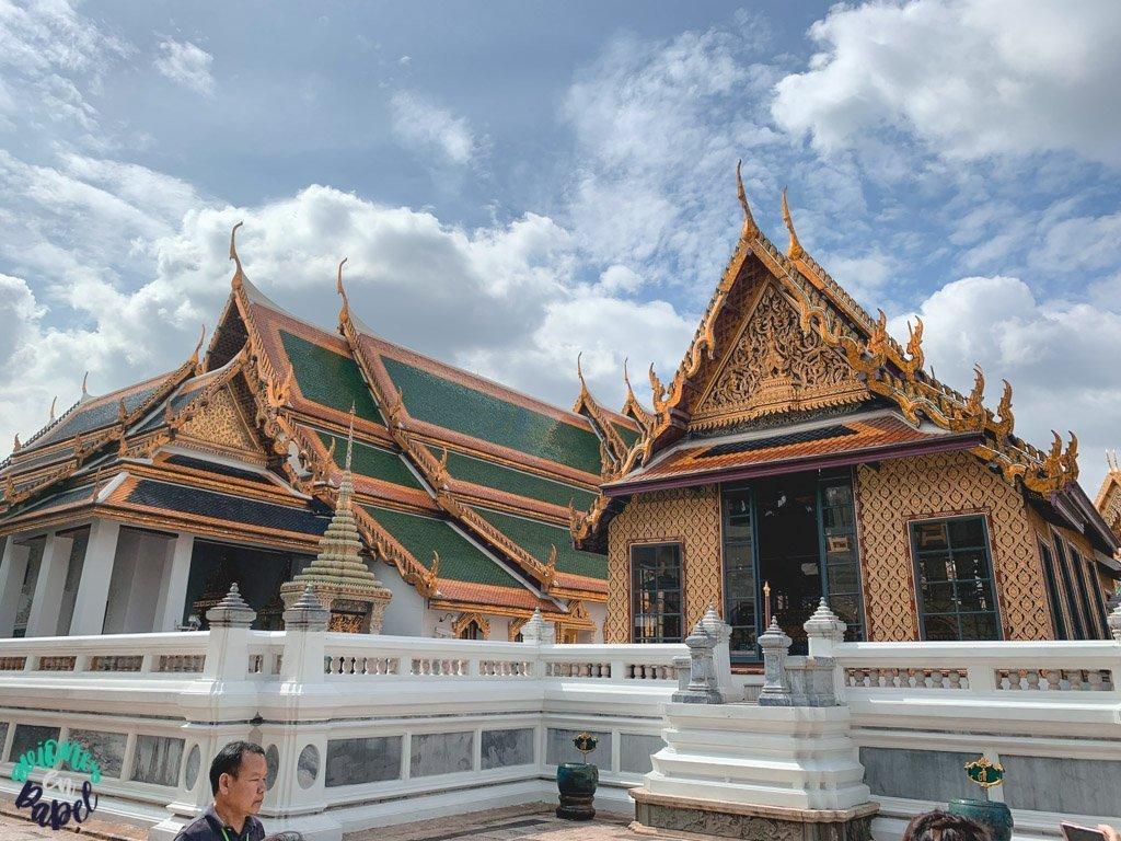 Dusita Phirom hall del Grand Palace. Qué ver en Bangkok en 3 días