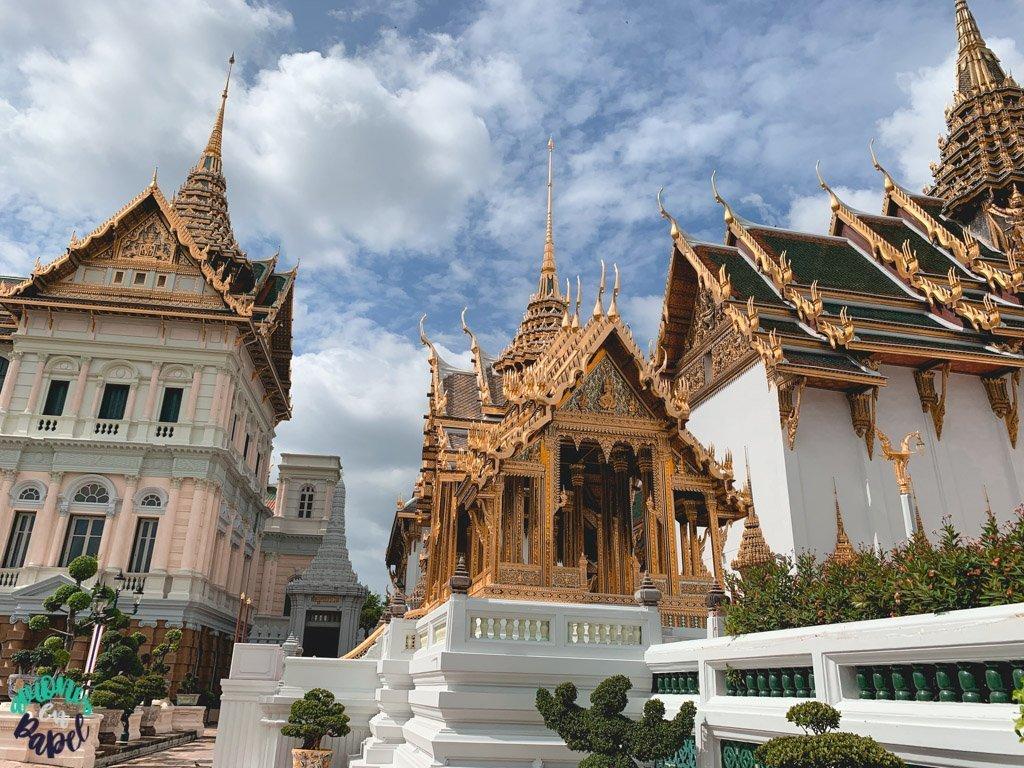 Aphorn Phimok Prasat Pavilion del Grand Palace. Qué ver en Bangkok en 3 días