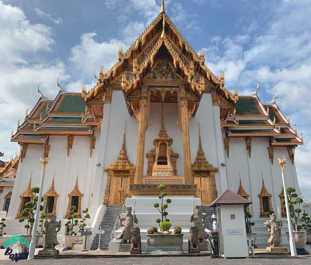 Dusit Maha Prasat Throne Hall del Grand Palace. Qué ver en Bangkok en 3 días
