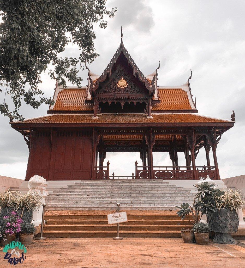 Santichaiprakarn Park. Qué ver en Bangkok en 3 días